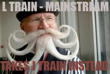 L train J train