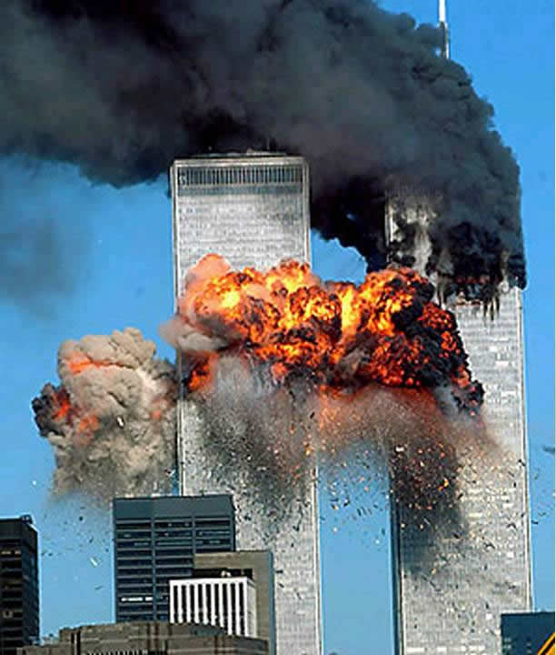twin-towers-on-fire
